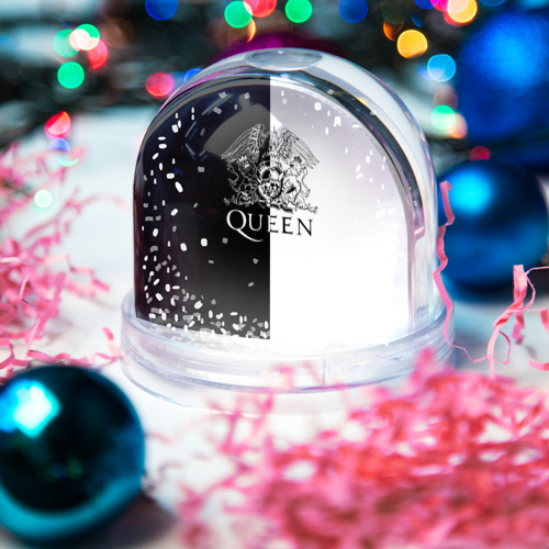 Водяной шар со снегом  Фото 03, Queen