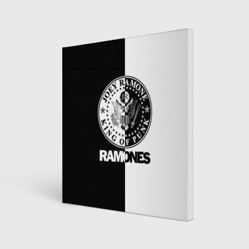 Холст квадратный Ramones Фото 01
