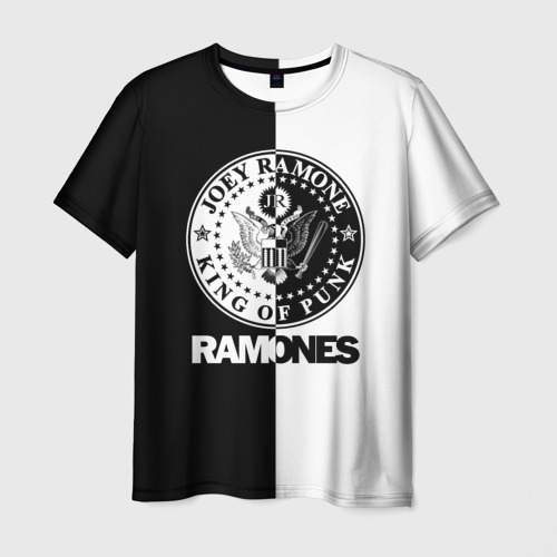 Мужская футболка 3D Ramones Фото 01