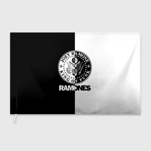 Флаг 3D Ramones Фото 01