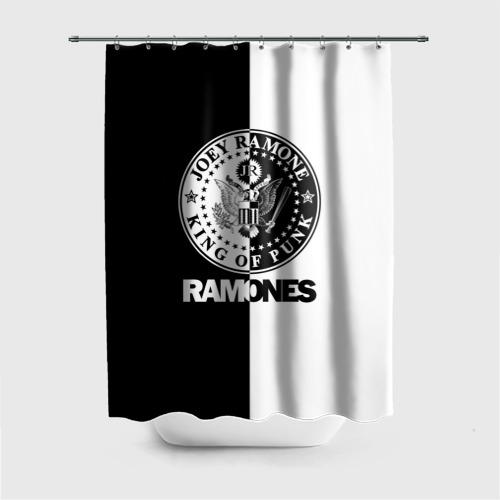 Штора 3D для ванной Ramones Фото 01