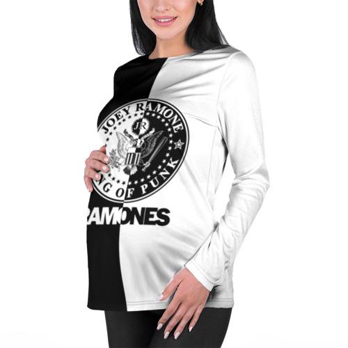 Женский лонгслив 3D для беременных  Фото 01, Ramones