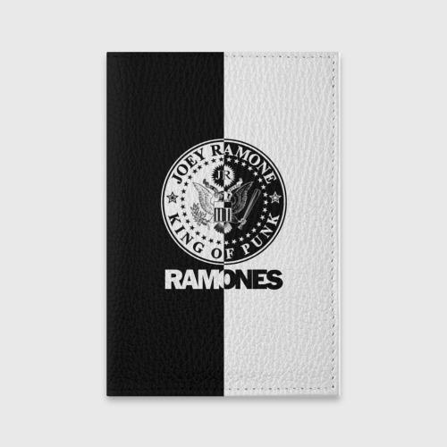 Обложка для паспорта матовая кожа Ramones Фото 01