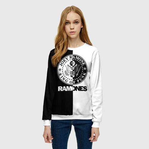 Женский свитшот 3D Ramones Фото 01
