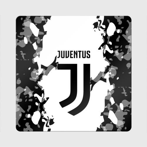 Магнит виниловый Квадрат Juventus 2018 Original    Фото 01