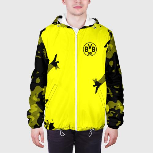 Мужская куртка 3D  Фото 04, FC Borussia 2018 Original