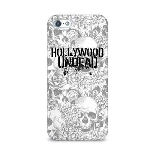 Чехол для Apple iPhone 5/5S 3D  Фото 01, Hollywood Undead