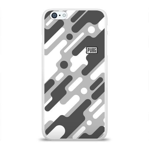 Чехол для Apple iPhone 6Plus/6SPlus силиконовый глянцевый PUBG Фото 01