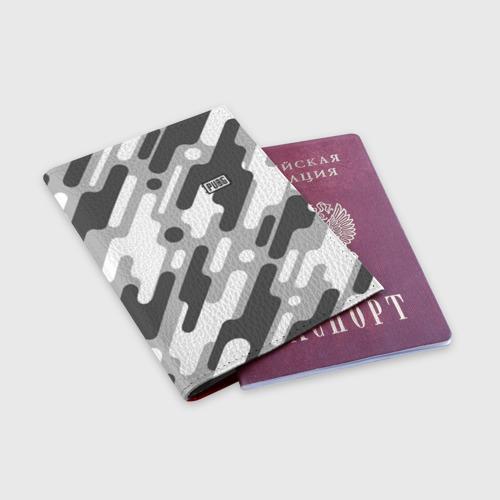 Обложка для паспорта матовая кожа PUBG Фото 01