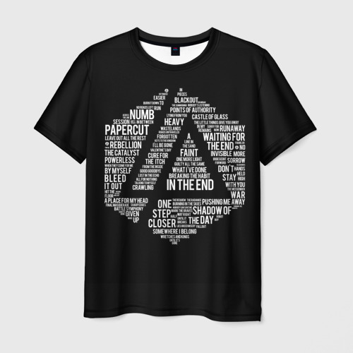 Мужская футболка 3D In the end