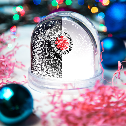 Водяной шар со снегом  Фото 04, Red Hot Chili Peppers