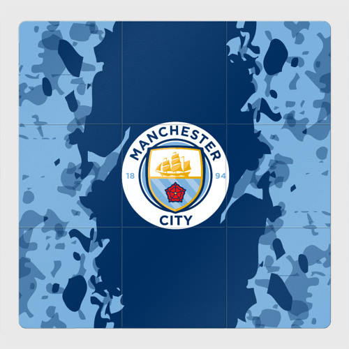 Магнитный плакат 3Х3 Manchester city 2018 Original