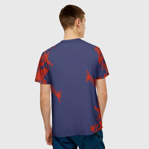 Мужская футболка 3D  Фото 02, Atletico Madrid 2018 Original