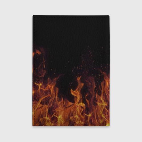 Обложка для автодокументов Лера огонь баба Фото 01