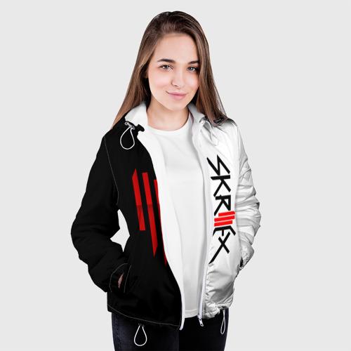 Женская куртка 3D  Фото 04, Skrillex