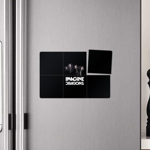 Магнитный плакат 3Х2  Фото 04, Группа Imagine Dragons