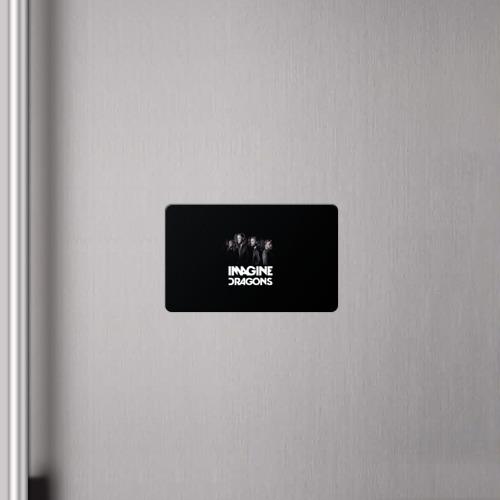 Магнит виниловый Visa  Фото 04, Группа Imagine Dragons