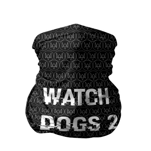 Бандана-труба 3D Watch Dogs 2