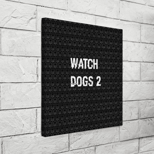 Холст квадратный  Фото 03, Watch Dogs 2
