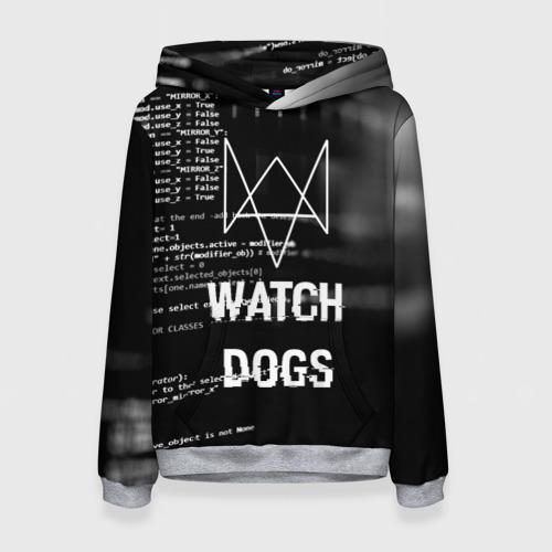 Женская толстовка 3D Wath dogs 2 Хакер  Фото 01