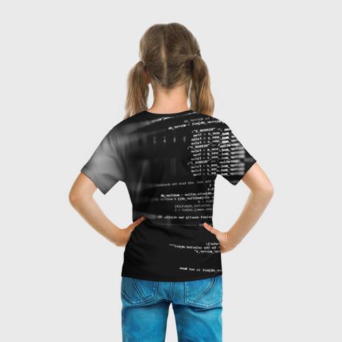 Детская футболка 3D Wath dogs 2 Хакер  Фото 01