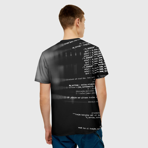 Мужская футболка 3D Wath dogs 2 Хакер  Фото 01