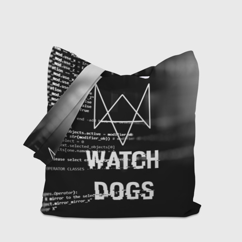 Сумка 3D повседневная Wath dogs 2 Хакер  Фото 01