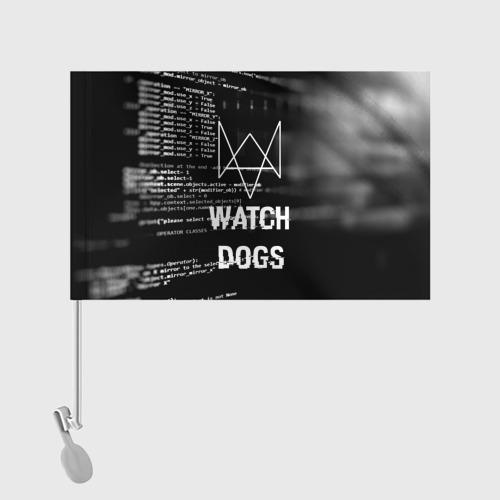 Флаг для автомобиля Wath dogs 2 Хакер  Фото 01