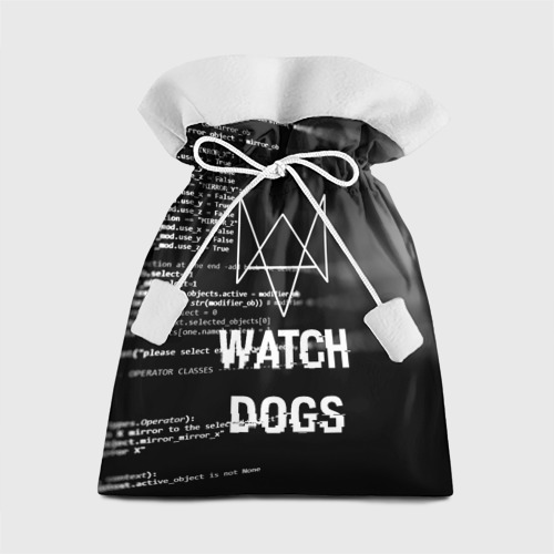 Подарочный 3D мешок Wath dogs 2 Хакер  Фото 01