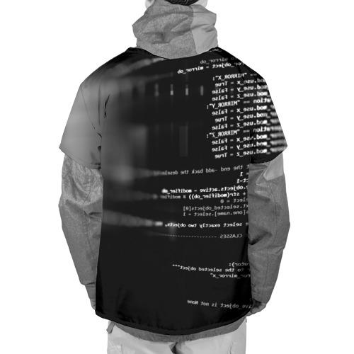 Накидка на куртку 3D Wath dogs 2 Хакер  Фото 01