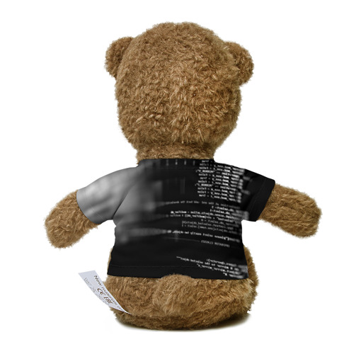 Миша в футболке 3D Wath dogs 2 Хакер  Фото 01