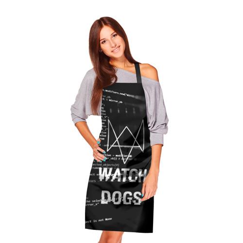 Фартук 3D Wath dogs 2 Хакер  Фото 01