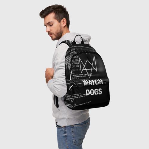 Рюкзак 3D Wath dogs 2 Хакер  Фото 01