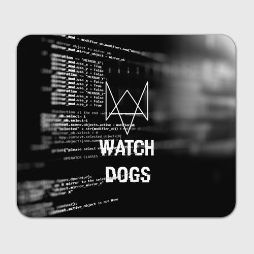 Коврик для мышки прямоугольный Wath dogs 2 Хакер  Фото 01