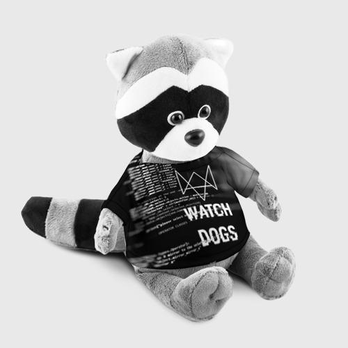 Енотик в футболке 3D Wath dogs 2 Хакер  Фото 01