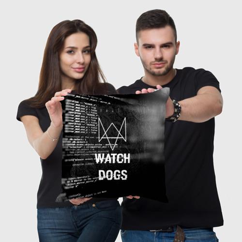 Подушка 3D Wath dogs 2 Хакер  Фото 01