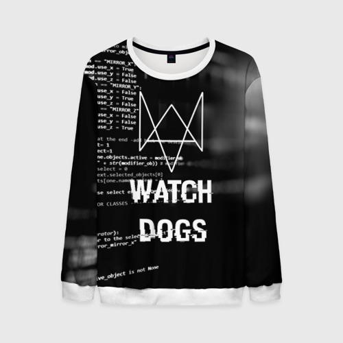 Мужской свитшот 3D Wath dogs 2 Хакер  Фото 01