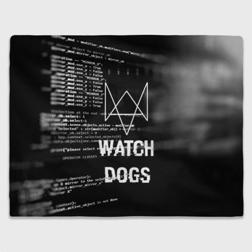 Плед 3D Wath dogs 2 Хакер  Фото 01