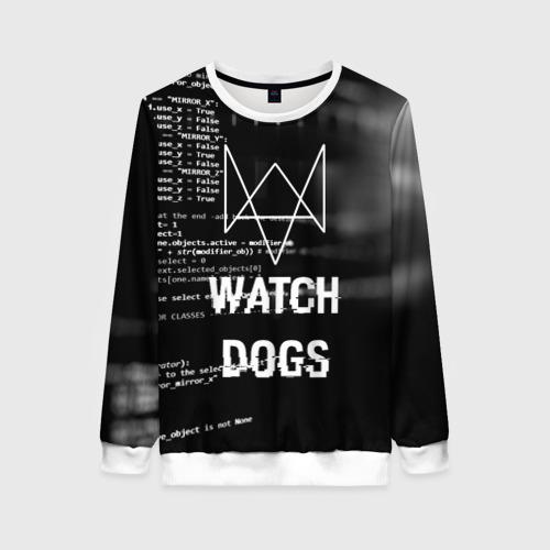 Женский свитшот 3D Wath dogs 2 Хакер  Фото 01