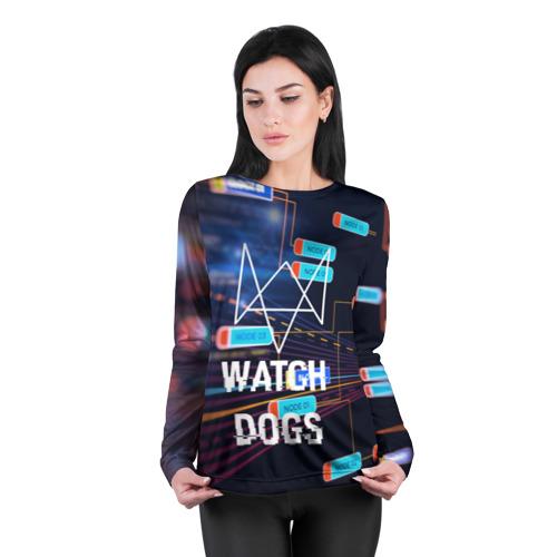 Женский лонгслив 3D для беременных  Фото 04, Watch Dogs