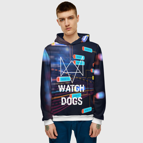 Мужская толстовка 3D Watch Dogs  Фото 01