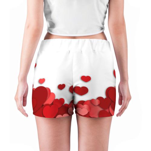 Женские шорты 3D  Фото 04, Пылания страсти