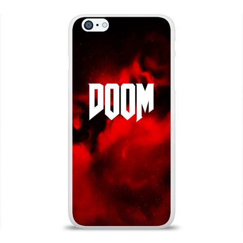 Чехол для Apple iPhone 6Plus/6SPlus силиконовый глянцевый  Фото 01, DOOM RED PLANET