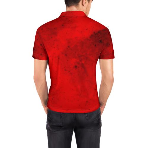 Мужская рубашка поло 3D  Фото 04, DOOM MARS GAME