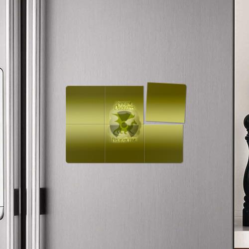 Магнитный плакат 3Х2  Фото 04, Imagine Dragons, Radioactive