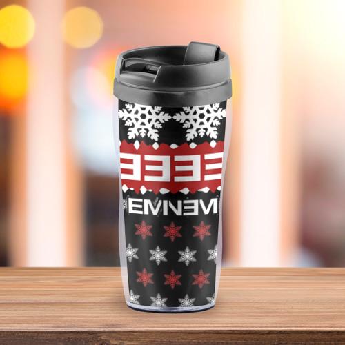 Термокружка-непроливайка  Фото 03, Праздничный Eminem