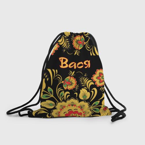Рюкзак-мешок 3D Вася, роспись под хохлому Фото 01