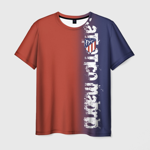 Мужская футболка 3D  Фото 03, Atletico Madrid 2018 Original