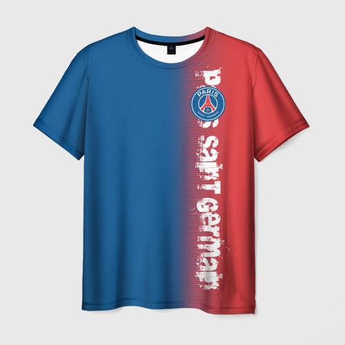 Мужская футболка 3D  Фото 03, PSG 2018 Original
