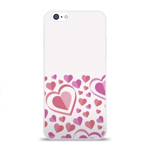 Чехол для Apple iPhone 6 силиконовый глянцевый Нежность и страсть Фото 01